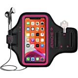 iPhone 12, 12 Pro, 11 Pro, XS, X Armband, JEMACHE Water Resistant Gym Sport Running Workout Exercise Arm Band Case for…