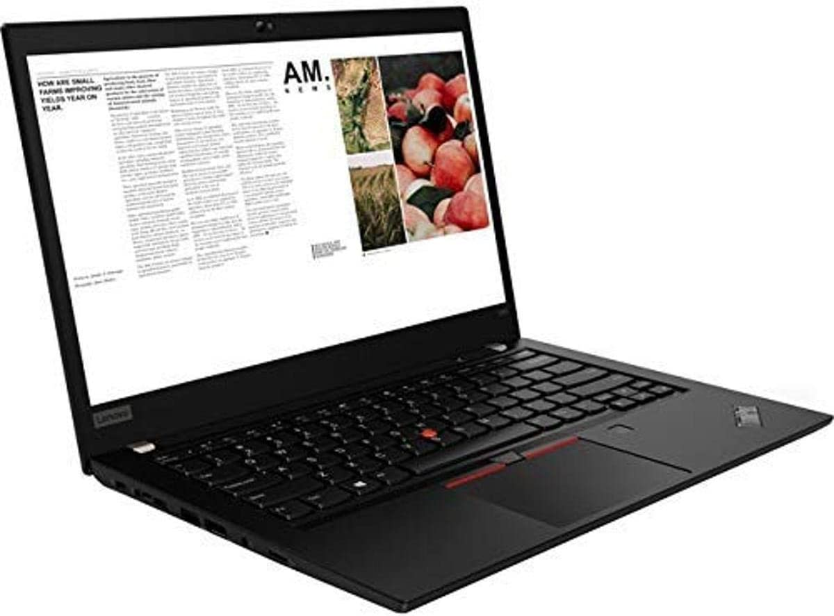 "Lenovo ThinkPad T490 20N20046US 14"" Notebook - 1920 x 1080 - Core i7 i7-8665U - 16 GB RAM - 512 GB SSD - Glossy Black - Windows 10 Pro 64-bit - Intel UHD Graphics 620 - in-Plane Switching (IPS) T"