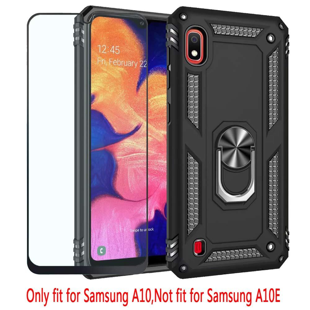 Funda Samsung Galaxy A10 Con Clip Magnetico (negra)
