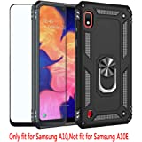 Strug for Samsung Galaxy A10 Case (Not Fit A10E),Heavy Duty Shockproof Protection Built-in 360 Rotatable Ring Magnetic Car Mo