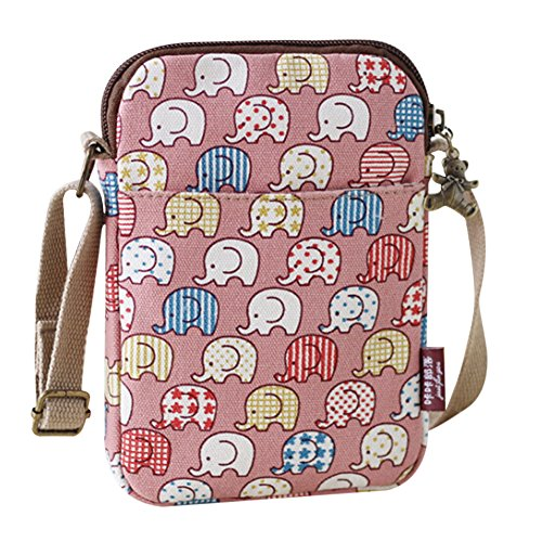 Pink donna IBLUELOVER Borsa a Size One tracolla wYxTaP