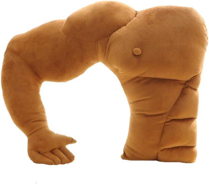 oamore novio muscular brazo apoyo almohada cama sofá cojín brazo Snuggle sueño cojín Estilo 1