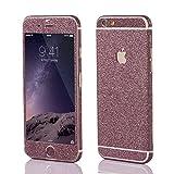 OKCS®Premium Glamorous sticker for Apple iPhone 6 Plus, 6s Plus Skin Glitter film Protector Slim Sticker film Case Cover in Cutie Pink
