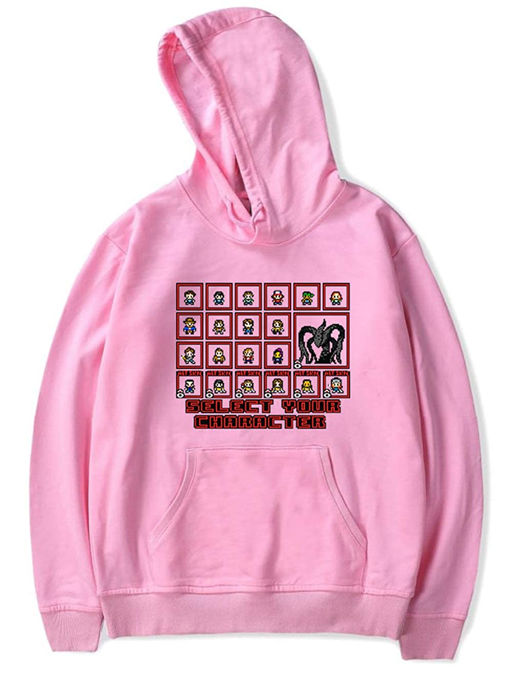 YIMIAO Unisexe 3D Printed Hoodies Automne Hiver Sweat-Shirts Stranger Things