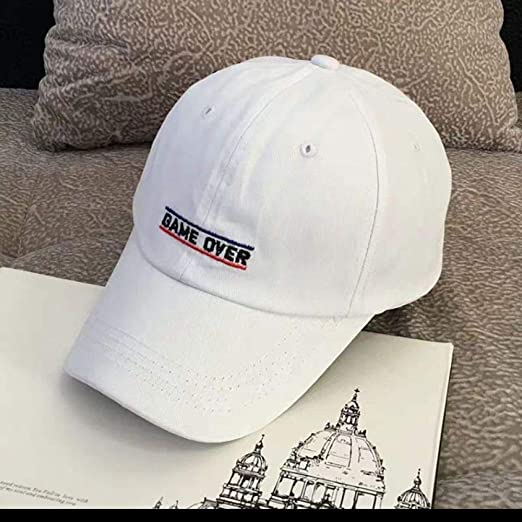 Gorra de béisbol Gorra con Letras Bordadas Salvajes Sombrero de ...