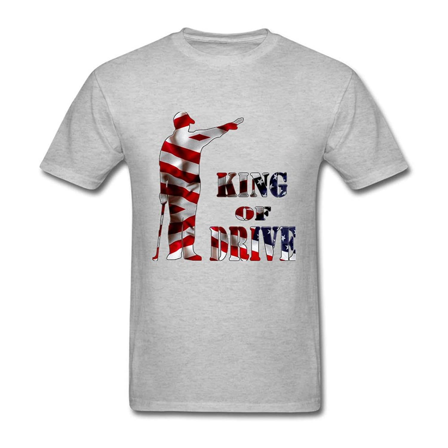 King of Drive Men Awesome Short Sleeve Unique T-shirt
