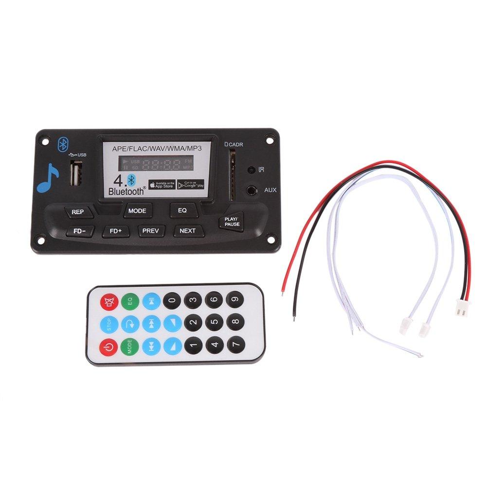 Shiningup Digital Led Bluetooth 4.0 APE FLAC WAV WMA MP3 Decodierung Karte Karte FM Radio AUX Aufnahme SLE-0973-ZQX
