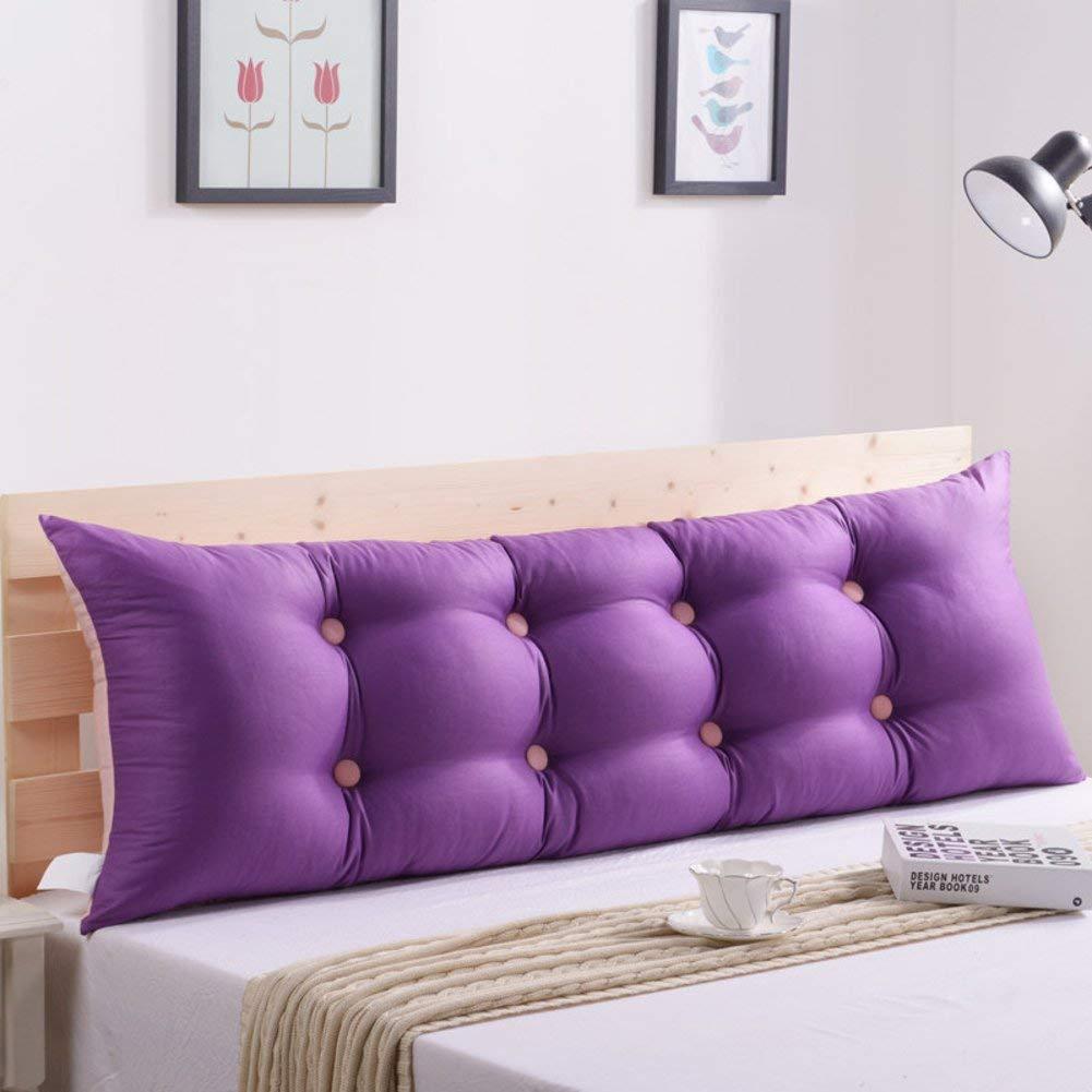 2J-QingYun Trade 枕元の読書枕、ソファーの背部クッション取り外し可能なあと振れ止めの位置サポート枕寝台 (Color : O, サイズ : 150x55cm(59x22inch))   B07S4GZPCW