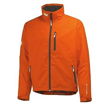 Helly Hansen Crew Midlayer - Chaqueta náutica para Hombre, Color Naranja, Talla XS: Amazon.es: Deportes y aire libre