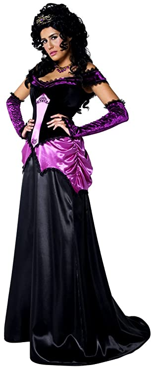 Disfraz largo de vampiro y vampiresa góticos (conde y condesa): Amazon.es: Juguetes y juegos