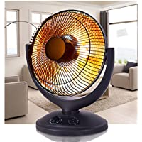 SKB family Electric Parabolic Oscillating Infrared Radiant Space Heater W/Timer Home office