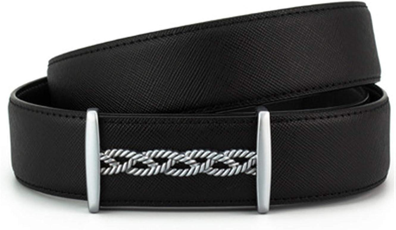 Cross pattern fashion leather belt