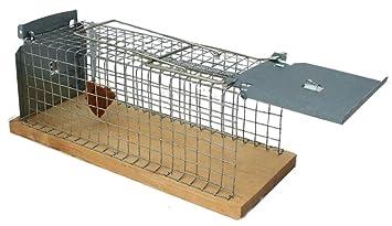 Moorland Trampa Animales Trampa jaula Trampa alambre Trampa para XL para Ratas Ratones o 30 cm