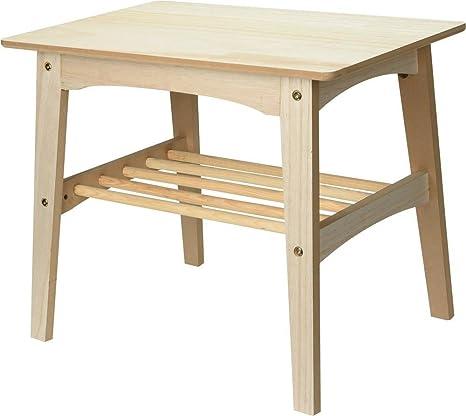 Tavolino 60 X 40.Kib Tavolino 60 X 49 X 40 Cm Amazon It Casa E Cucina
