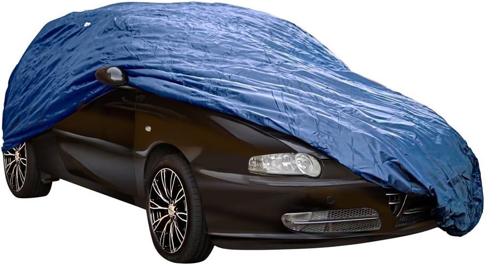 Sun Renault Clio Iv Rain Dirt /& Snow Protection Breathable Blue Full Car Cover