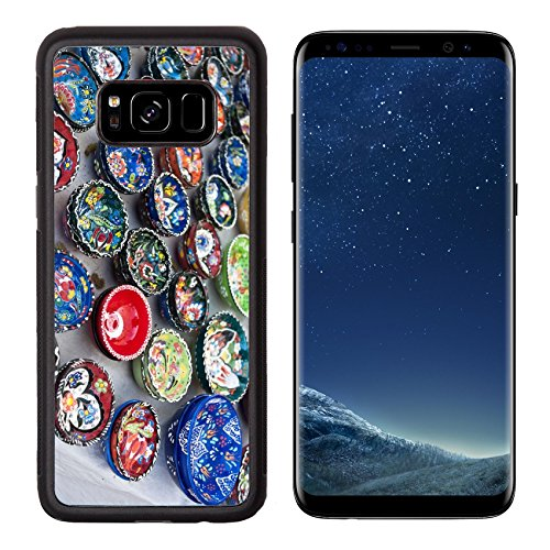 Luxlady Premium Samsung Galaxy S8 Aluminum Backplate Bumper Snap Case IMAGE ID: 22039313 Handmade ceramic plates in Turkey