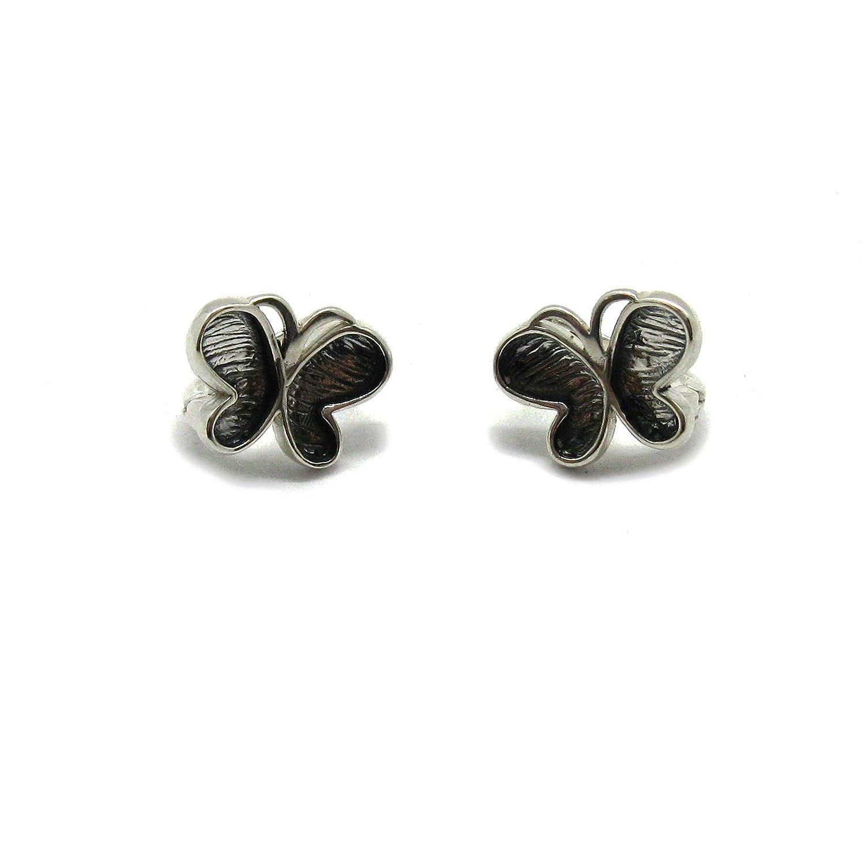 Orecchini in Argento solido 925 Farfalle E000749