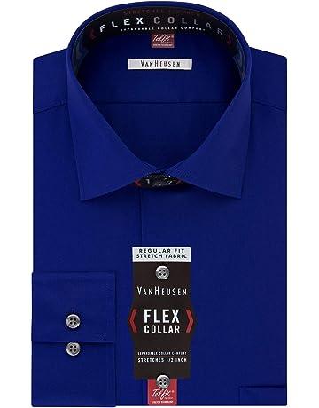 dac89fd7 Van Heusen Men's Dress Shirt Regular Fit Flex Collar Solid