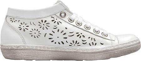 Chacal Shoes - Botines de Mujer de Piel - máximo Confort - Botines Casual de Cuero 100% - Piel picada - Fácil Calzado - Botines de Mujer - EU 36 a EU 41