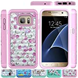 Galaxy S7 Case, HLCT Rugged Bling Diamond Soft-Interior - Best Reviews Guide