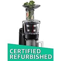 (CERTIFIED REFURBISHED) KitchenAid 5KVJ0111BCA 250-Watt Maximum Extraction Juicer/Slow Juicer with 3 Screens - Low Pulp, High Pulp and Sauces/Jams