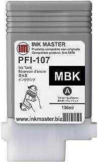 Ink Master - Set 6 Cartucho remanufacturado Canon PFI-107 CMYKMkMk ...