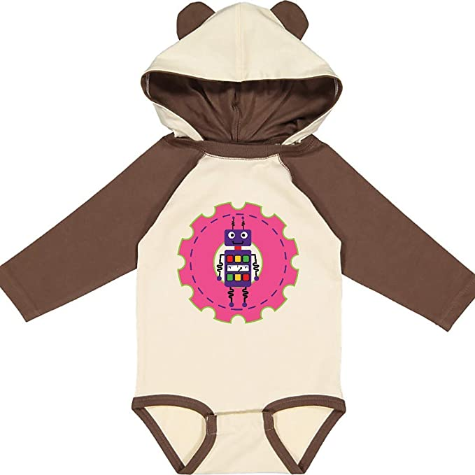 inktastic Robot Girls Science Engineering Infant Creeper