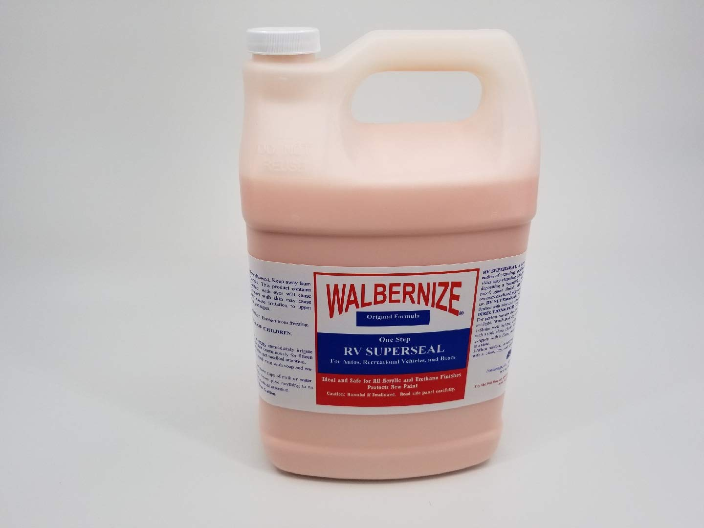 Walbernize RV Super Seal for Autos, RVs, Airstream, Boats, Planes to Protect New Paint 1 Gallon Container