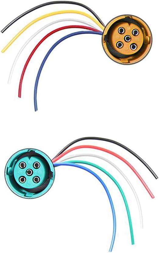 Anschluss Set 5 Polig 15cm Für Rückleuchten Mit Bajonettanschluss Auto