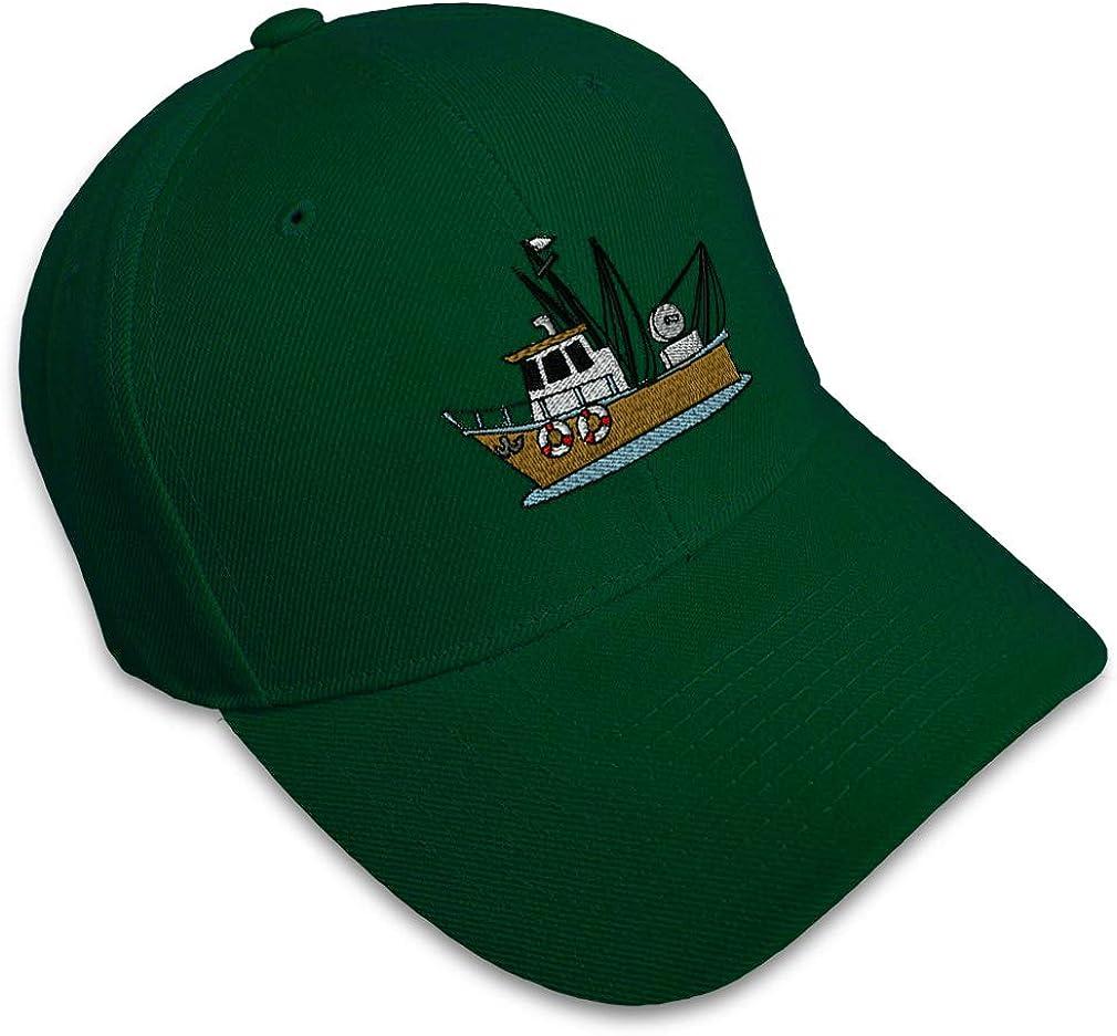 Custom Baseball Cap Industrial Boat Embroidery Acrylic Dad Hats for Men /& Women