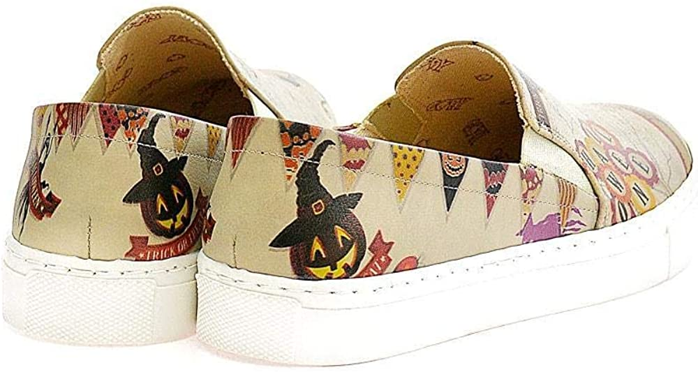 Goby Halloween Slip on Sneakers Shoes VN4009