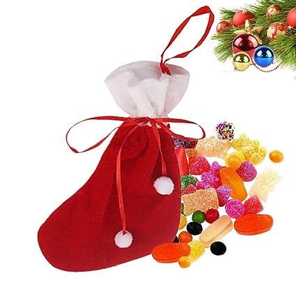 OverDose Sobredosis de Navidad decoraciones calcetines Elfos bolsas de dulces bolsas de regalo de Navidad
