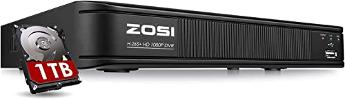 ZOSI H.265 5MP Lite 8 Channel CCTV DVR Recorder