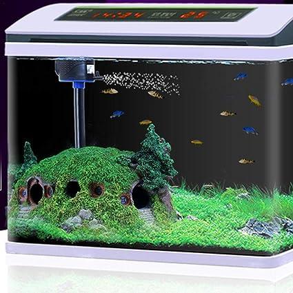 Artificial acuario ornamento rockery de viento pecera decoración submarina pequeña rocalla Casa hobbit Acuario pecera Decorativa