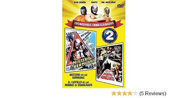 Amazon.com: Luchadores Enmascarados: Misterio En Las Bermudas / El Castillo De Las Momias De Guanajuato: Movies & TV