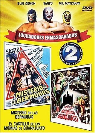 Luchadores Enmascarados: Misterio En Las Bermudas / El Castillo De Las Momias De Guanajuato by