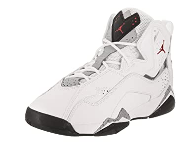 Nike Jordan Kids Jordan True Flight BG White/Gym Red/Black/Wolf Grey