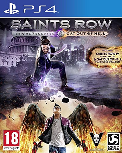 Saints Row IV: Re-Elected & Gat Out Of Hell - First Edition (PS4) (Saints Row Iv Game Of The Century Edition)