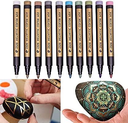 Pen gaddrt 10 unidades colores surtidos metallische ...