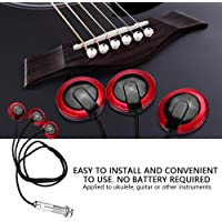 Ukulele pickups, low noise violin pickups, metal and electronic guitar pickups, useful for music lovers