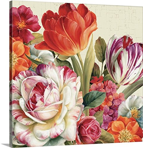 Lisa Audit - Canvas Wall Art  Garden View Tossed