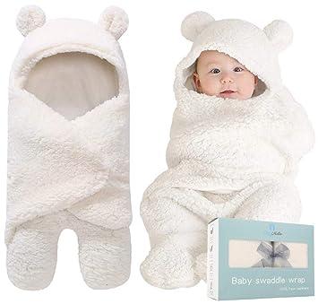 Amazon.com: Manta para bebé con diseño de saco de dormir ...