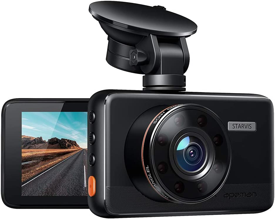 Apeman Dash Cam Full Hd Car Camera 1080p Dvr With 170 Elektronik
