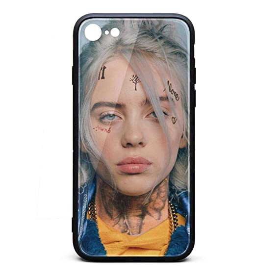 competitive price 5368b cd82b iPhone 6/6S Case Billie-eilish- Slim TPU Soft Rubber Silicone Cover Phone  Case for iPhone 6/6S Case[4.7 inch]