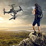 USHOT F16W Altitude Hold HD Camera 2.0MP WIFI FPV RC Quadcopter Drone Selfie Foldable- Drones/Drone Charger/Quadcopter Drone Batteries/RC Helicopter Parts /