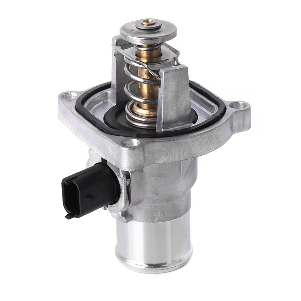 Engine Coolant Thermostat Assembly With Housing For Chevy Cruze Pontiac Sonic Aveo G3 96984104 Issyzone