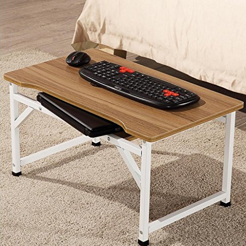 GFL Dormitory Laptop Table/Bed Multi-purpose Game Tables/Desk/Small Table Computer Tables (Color : A) by GFL