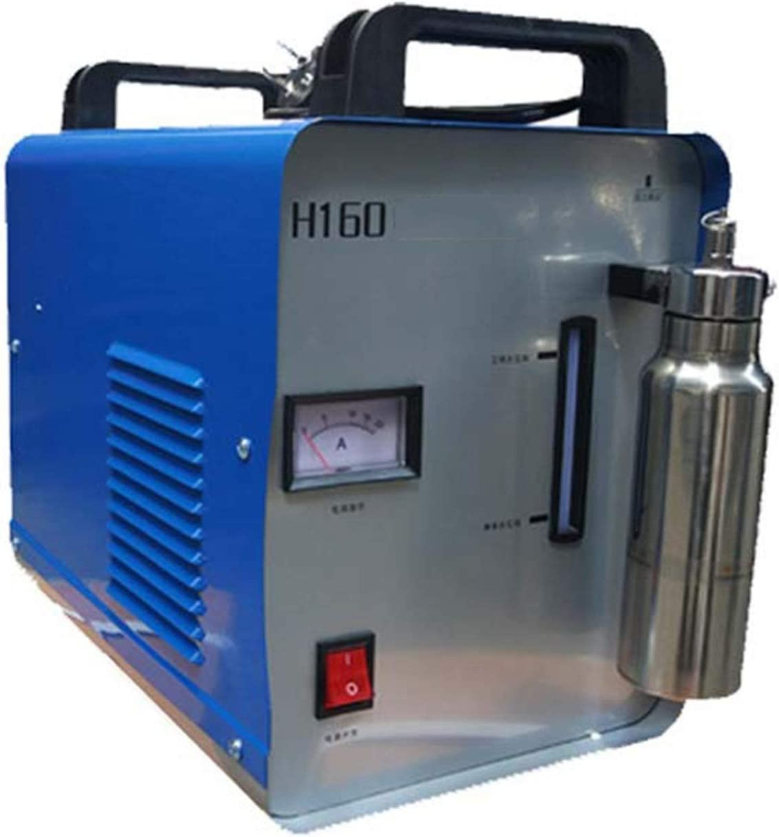 FAFAFA 600W 95L Llama de oxígeno Pulido a máquina de Pulido de hidrógeno Palabra acrílico Cristal de plexiglás acuosa de hidróxido Soldador,H160