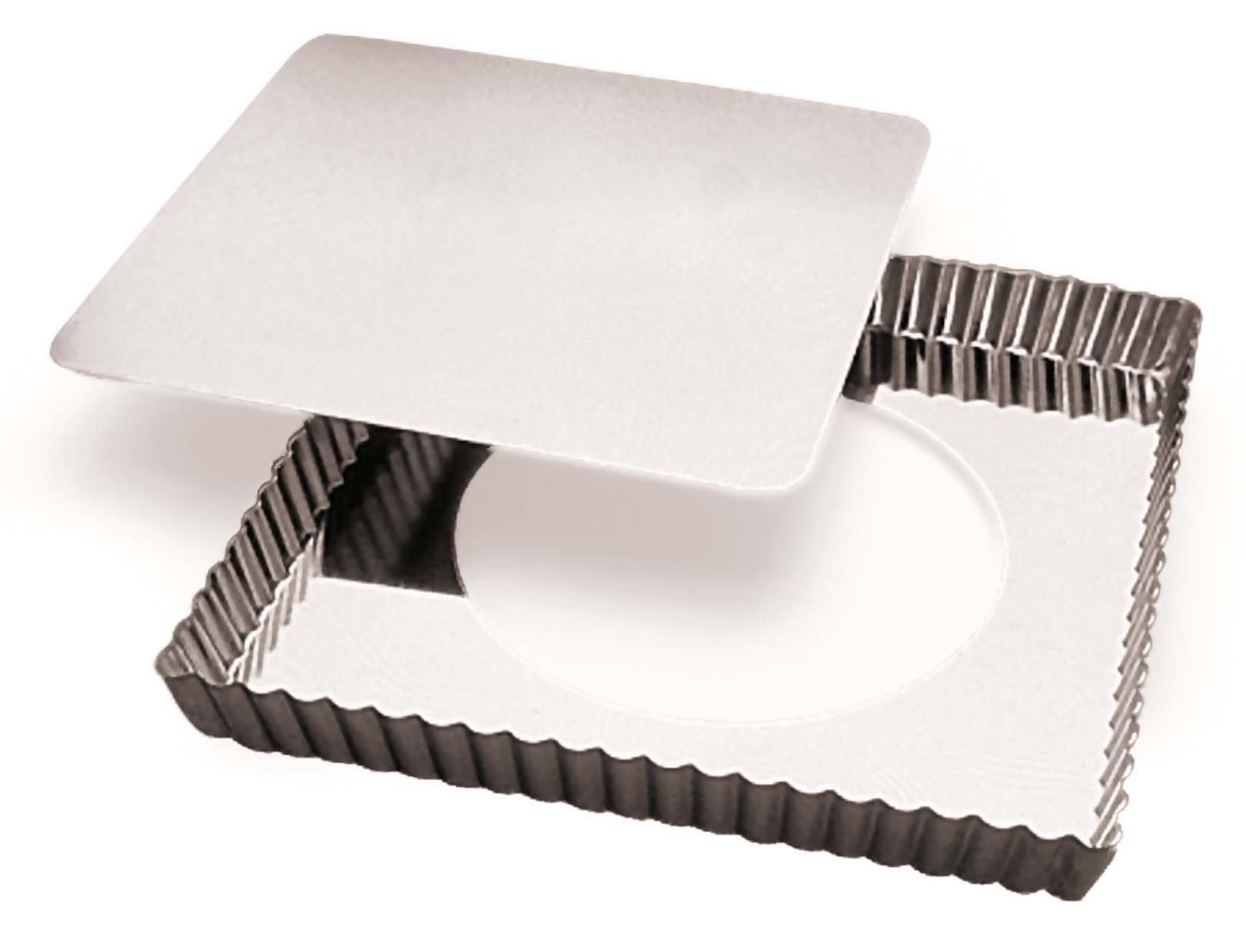 Paderno World Cuisine Square Tin Tart Pan, 9-Inch by Paderno World Cuisine