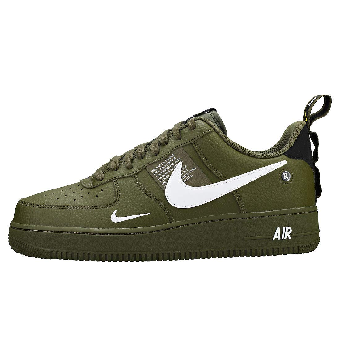 Nike Air Force 1 07 LV8 Utility, Zapatillas de Deporte para Hombre, (Olive Canvas/White/Black/Tour Yellow 300), 45 EU: Amazon.es: Zapatos y complementos